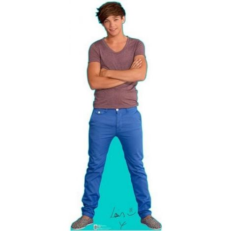 Louis One Direction Lifezise Cardboard Cutout #1343