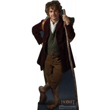 Bilbo The Hobbit Lifezise Cardboard Cutout #1399