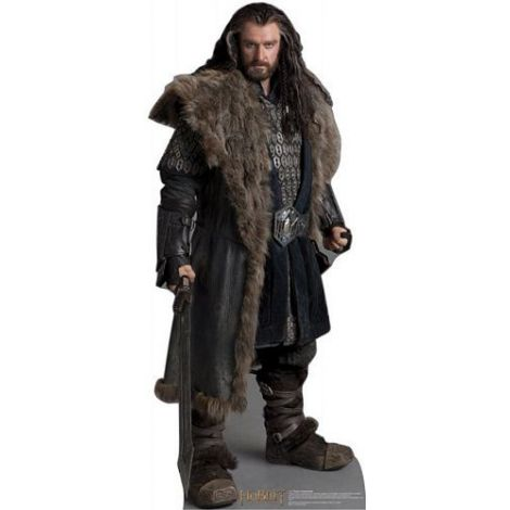 Thorin Okenshield The Hobbit Lifezise Cardboard Cutout #1405