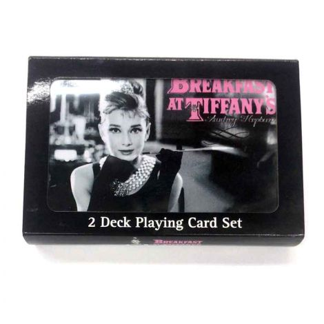 5 Inch Audrey Hepburn Playing Card Gift Set