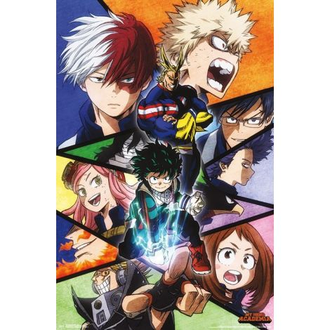 My Hero Academia Season 2 Poster
