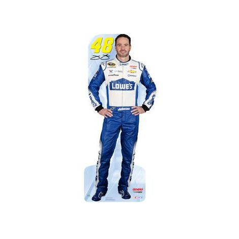 NASCAR Jimmie Johnson Cardboard Cutout