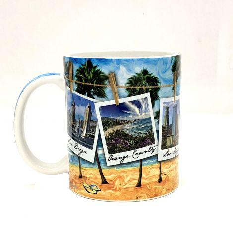 California Polaroid Mug
