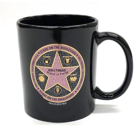 Black Circle Walk Of Fame Coffee Mug