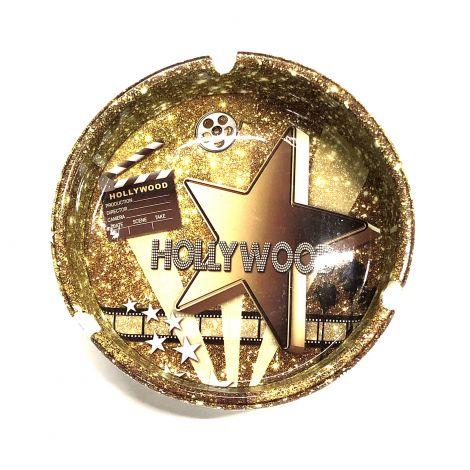All Gold Hollywood Ashtray