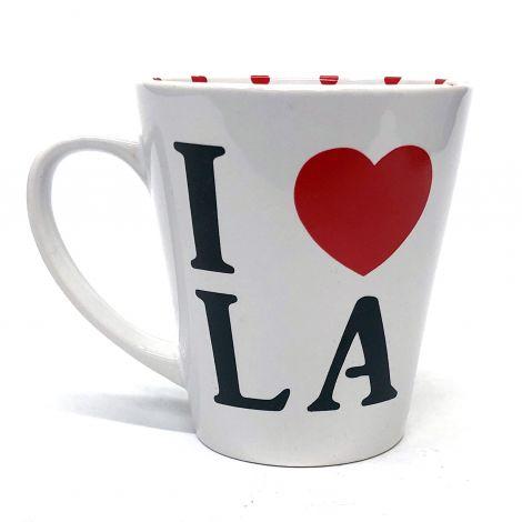 I Love La White Mug