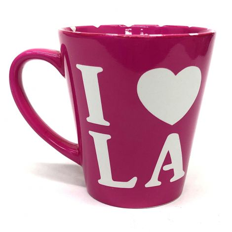 I Love LA in Pink