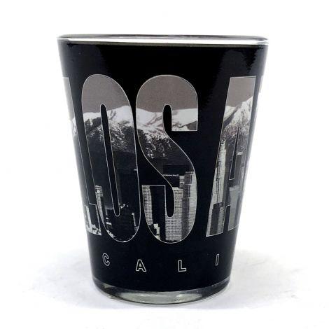 Los Angeles, California, Black Shot Glass
