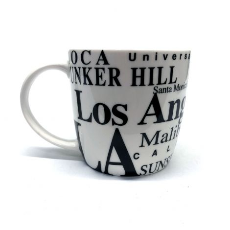 White Los Angeles Coffee Mug