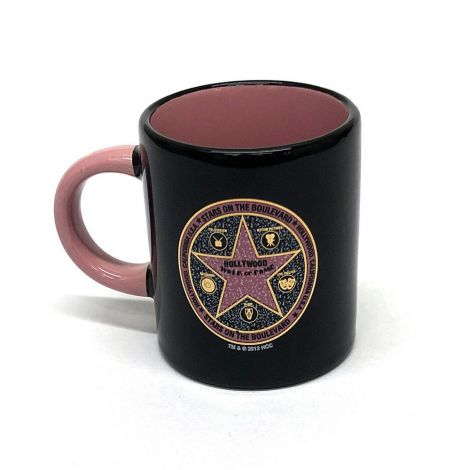 Black Walk of fame Espresso Shot Mug
