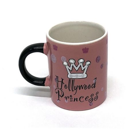 Hollywood Pink Espresso Shot Mug