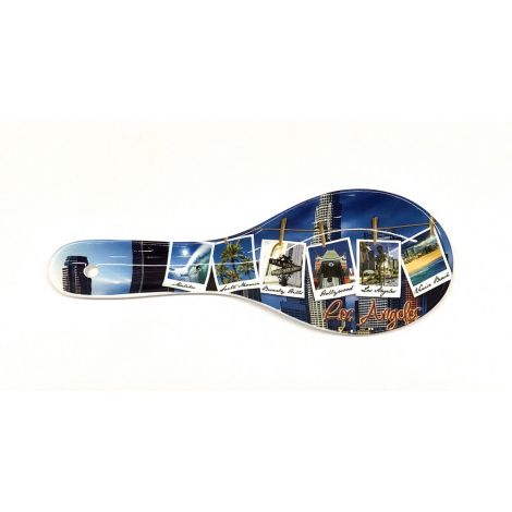 Polaroid Los Angeles Ceramic Kitchen Spoon Rest