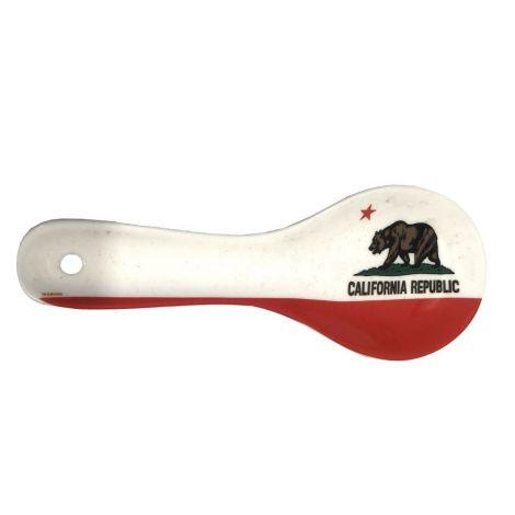 California Ceramic Kitchen Spoon Rest