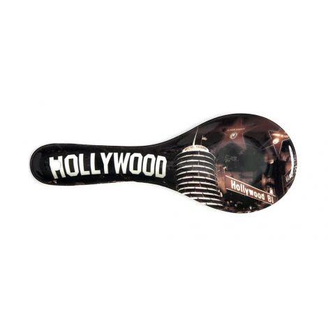 Hollywood Sepia Ceramic Kitchen Spoon Rest