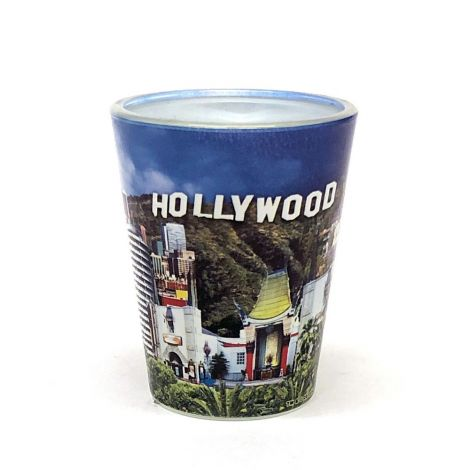 Hollywood Scenic Shot Glass