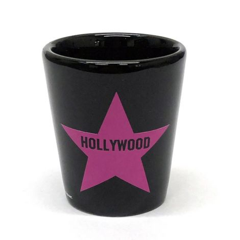 Hollywood Pink Star Shot Glass