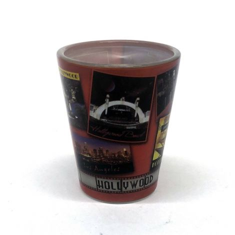 Hollywood Collage Shot Glass