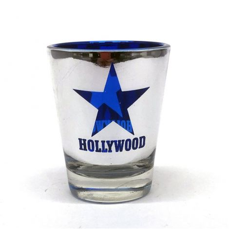 Metallic Hollywood Blue Star