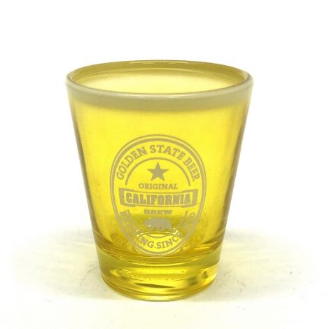 Golden State Beer, California Brew Shot Glass