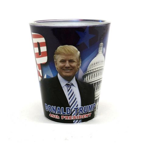 Donald Trump Shot Glass