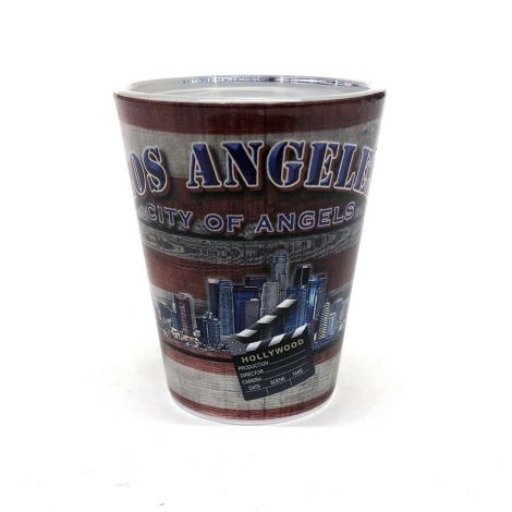Los Angeles City of Angeles vintage Shot Glass