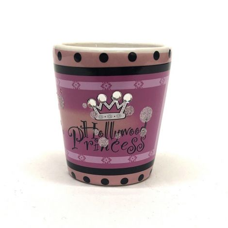 Hollywood Princesses With Rhinestones Shot Glass