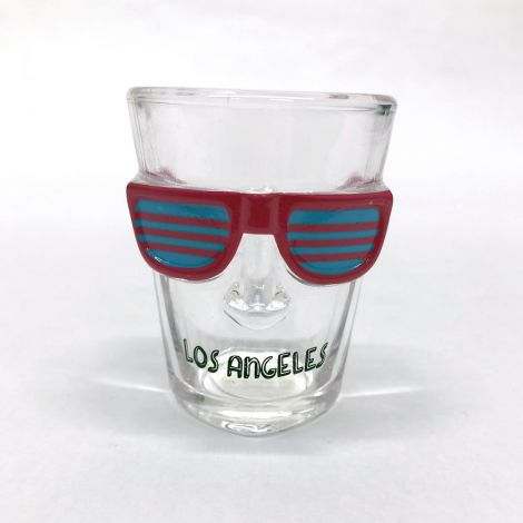 Los Angeles Pink And Blue Party Glasses Shot Glass