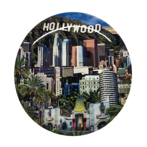 Hollywood Scenic Decorative Plate