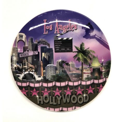 Hollywood Los Angeles Decorative Plate