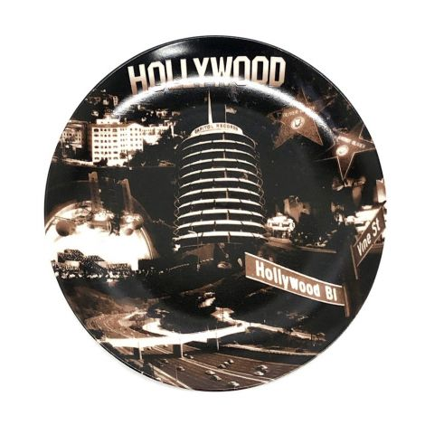 Hollywood Sepia Plate