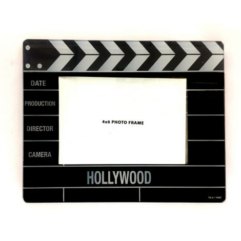 Hollywood Clapboard Glass Frame