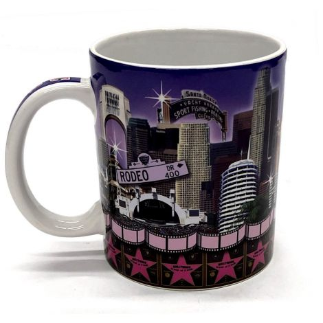 Los Angeles Walk Of Fame Coffee Mug