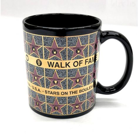 Black Walk Of Fame, Star On The Boulevard Mug