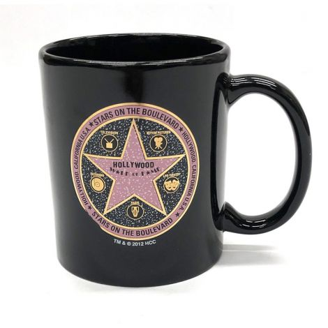 Black Circle Walk Of Fame Coffee Mug