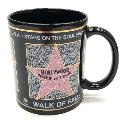 Black Walk Of Fame Coffee Mug