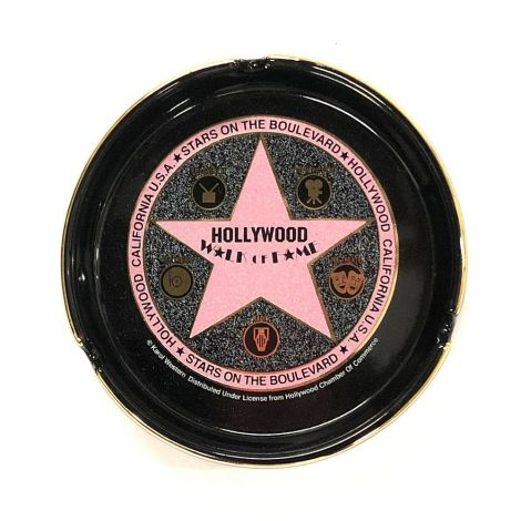 Black Walk Of Fame Ashtray
