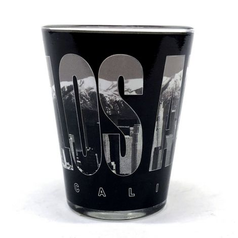Los Angeles, California, Black Shot Glass