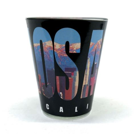 Los Angeles City Sun Shot Glass