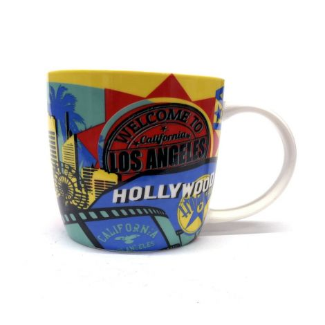 Welcome to Los Angeles Multi-Color Coffee Mug