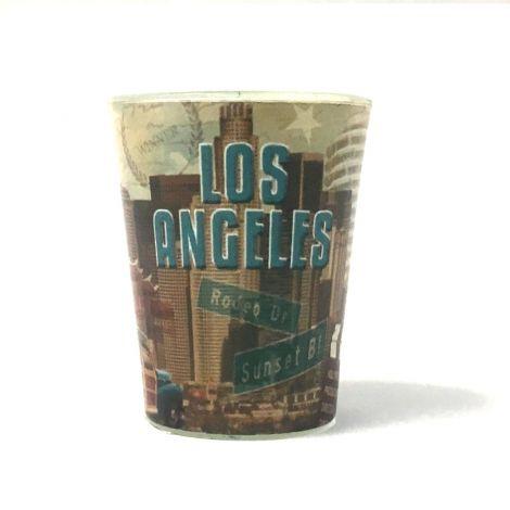 Los Angeles Shotglass