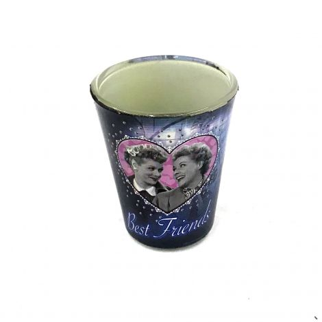 I Love Lucy metallic Best Friends Shot Glass