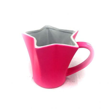 Hollywood Pink star shape big coffee mug