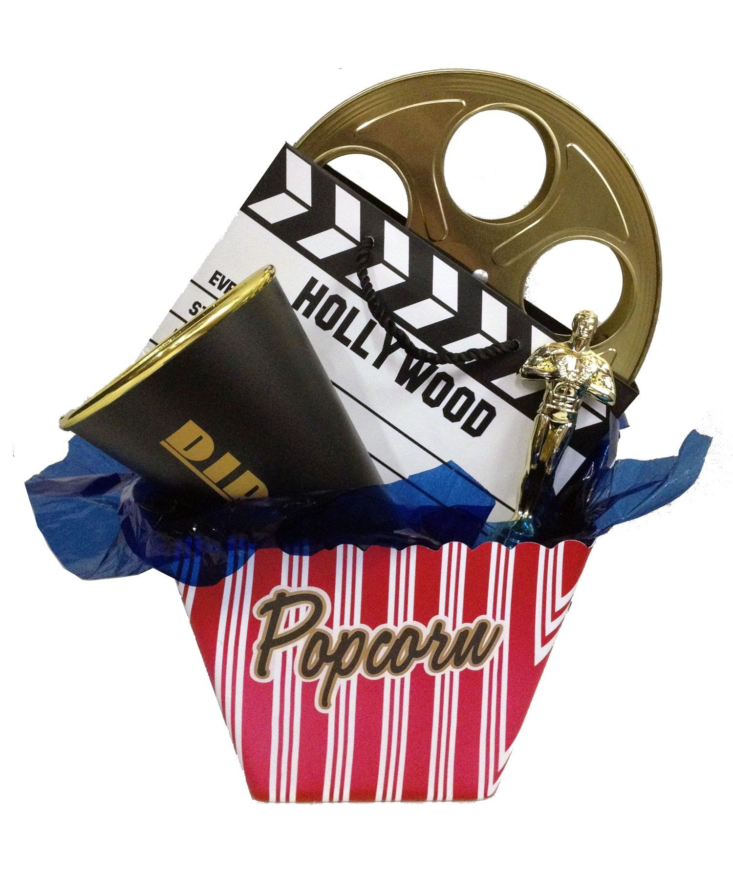 Skip to the beginning of the images gallery. Details. This Popcorn Gift Basket ...