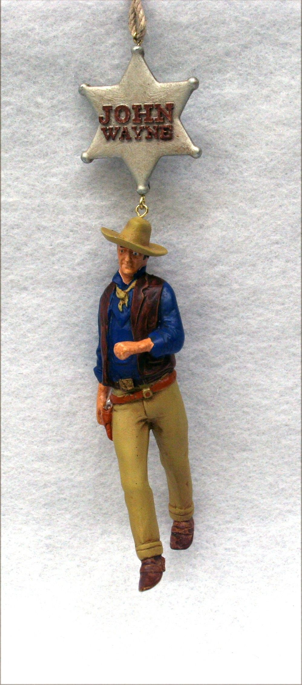 John Wayne Christmas Ornament
